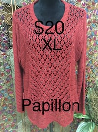 Ladies Size XL Sweater from Papillon 3145 km
