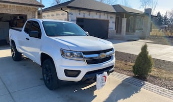 2016 Chevrolet Colorado 2WD Work Truck Extended Cab