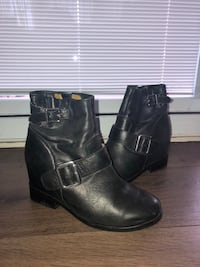 Leather booties Vaughan, L6A