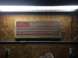 USA / American Flag / Distressed