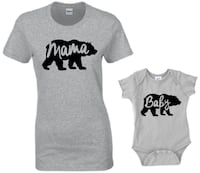 New Mama bear & baby bear tshirt - onesie Richmond, V6Y 1Z1