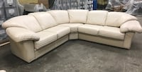 WILMA SALOTTI LEATHER COUCH HACKENSACK