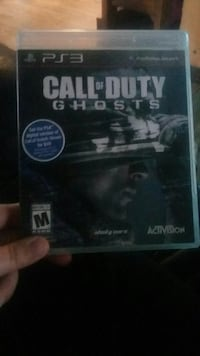 Call of Duty Ghosts PS3 game case Florida, 12010