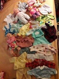 Bundle of baby clothing and 5 babies  Irvine, 92620