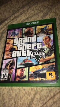 Xbox One Grand Theft Auto Five game case Toronto, M8Y 0A4