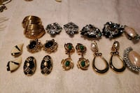 Clip On Earrings, 9 pairs Marlboro Township, 07751