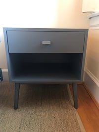 Mid century grey nightstand  Washington, 20002