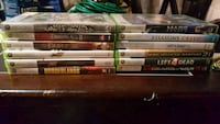 assorted Xbox 360 game cases Englewood, 80110