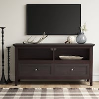 Moving - Beautiful Expresso TV Stand - $100 FIRM