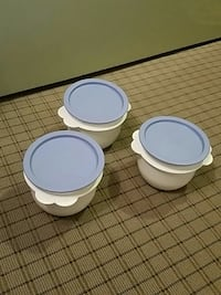 Tupperware 3 covered small bowls Scranton