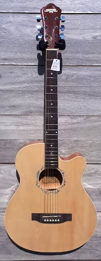 Acoustic guitar for students, small hand audlts 39 inch Markham