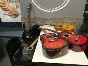 Guitars sold by guitar teacher