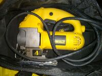 yellow and black Dewalt corded power tool Great Falls, 59405
