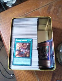 Yu-Gi-Oh trading card lot collection