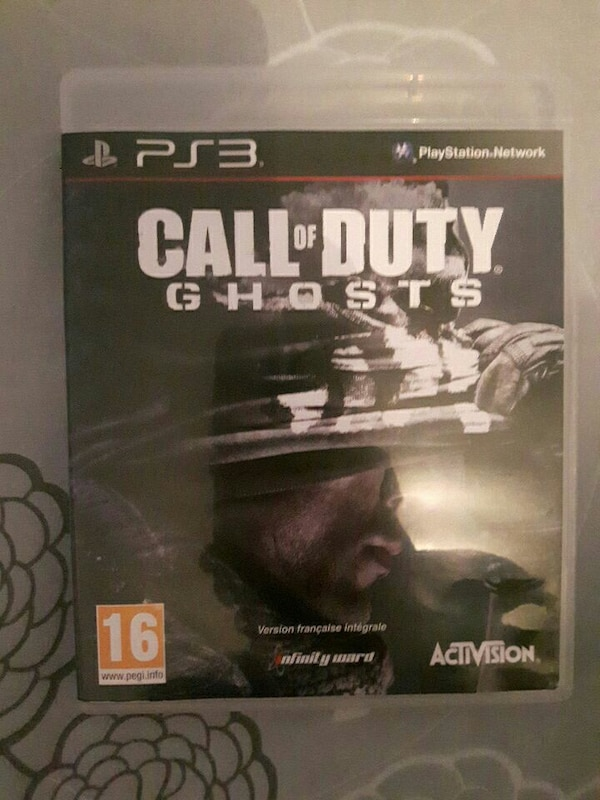 Jeu Call of Duty Ghosts Ps3