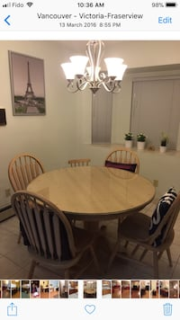 oval brown wooden table with four chairs dining set 3746 km