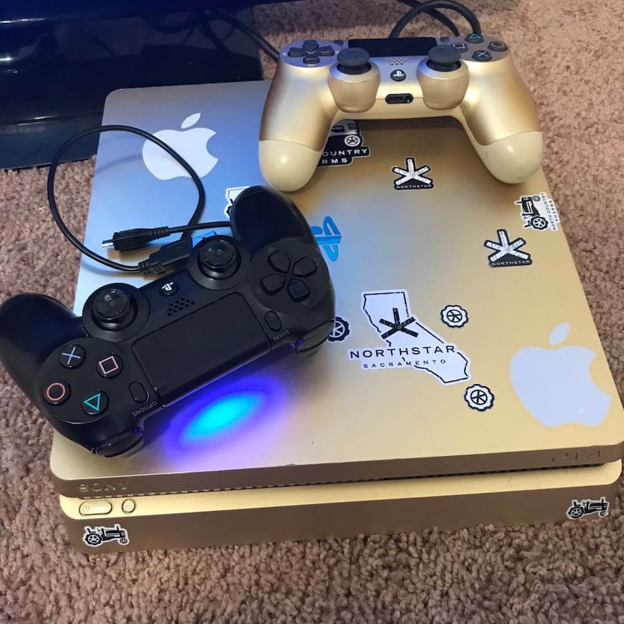 Gold ps4 1tb