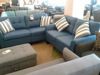 Blue Fabric Sofa and Love Seat on sale  Phoenix, 85018
