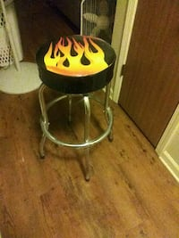 Flames swivel bar stools