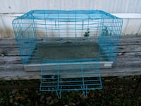 white and blue metal pet cage San Marcos, 78666
