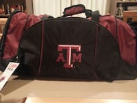 Logo Texas A&M Rolling Duffle Bag