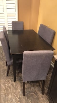 black wooden dining table set Vaughan, L4H 2L4