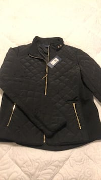 black zip-up jacket Toronto, M5A