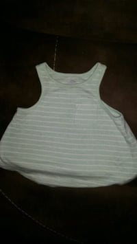 white and gray stripe tank top Queens, 11419