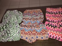Size medium rompers all for 15