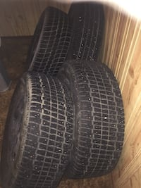 Honda Factory Steel Rims W/Winter Tires  Winnipeg, R3T 4V4