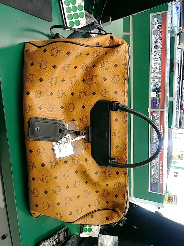 fa7d3688648a Used MCM luggage bag for sale in Norcross - letgo