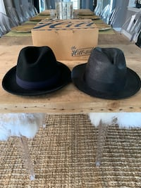 Two Panama Hats from Hill-Side