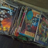 Must pick up 25.00 sale all comics over 50books Fresno, 93728