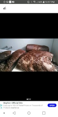 Queen size bedcover set Laval, H7M 4A2