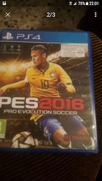 Caso di gioco PES 2016 Pro Evolution Soccer PS4