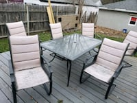 Patio set and 6 chairs, MAKE ME AN OFFER!! Saint Paul, 55117