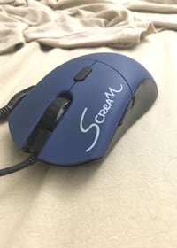 blue and black Logitech corded computer mouse Ashburn, 20148