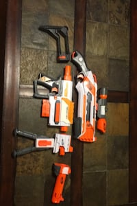 Package deal Nerf elite guns with attachments Raleigh, 27603