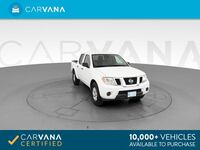 2012 Nissan Frontier Crew Cab pickup SV Pickup 4D 5 ft White
