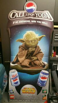 Star wars Yoda 2005 Pepsi display brand new Chicago, 60638