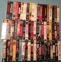 Movies 60 VHS Huge Lot 30.00