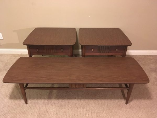Bett Mid Century Modern End Tables And Coffee Table