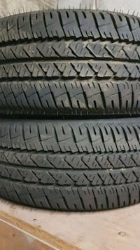 2 all season tires with rims 543 km