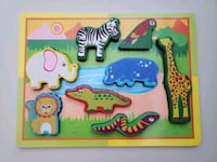 Puzzle wild animals for toddlers New Mississauga, L5G 2A3