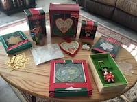 Lot of vintage Christmas ornaments, see more  66 km