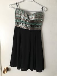 Strapless forever 21 dress, worn once 572 km