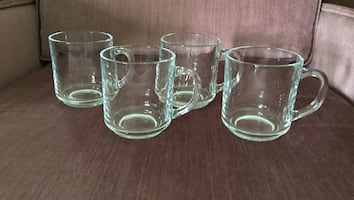 Coffee mugs - glass