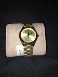 GOLD TONE MK WATCH FOR WOMEN