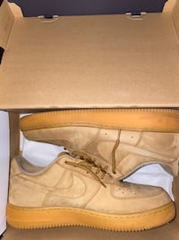 Wheat Air Force 1s