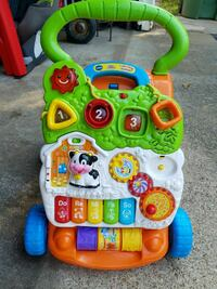 baby's assorted color Vtech learning walker